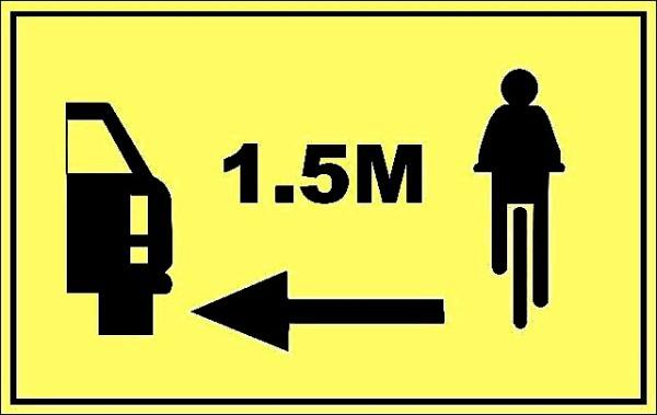 Recuerda siempre respetar la distancia mínina de seguridad de 1.5 metros