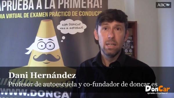 Dani Hernández entrevistado por ABC